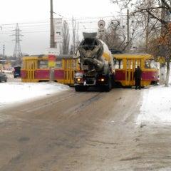 Photo taken at Трамвайна станція «Семена Скляренка» by Лёхус V. on 12/11/2013