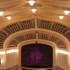 Photo taken at Macky Auditorium by Seth James D. on 11/25/2012
