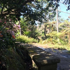 Photo taken at E.G. Waterhouse National Camellia Gardens by Heather R. on 9/23/2014