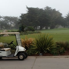Photo taken at Pacific Grove Golf Links by alyce on 3/27/2015