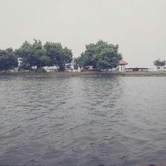 Photo taken at Pantai Randusanga Indah by N.C. O. on 3/9/2014