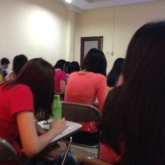 Photo taken at Universitas Prima Indonesia ( kampus II ) by Sanny K. on 1/18/2014