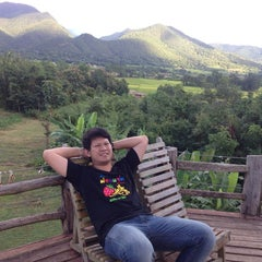 Photo taken at Mari - Pai Resort by asada a. on 10/31/2014