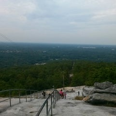 Photo taken at Stone Mountain Park by Anastacia J. on 9/29/2012