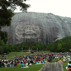 Photo taken at Stone Mountain Park by Derek on 5/19/2013