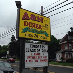Photo taken at A&N Diner by Steve K. on 6/11/2014