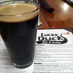 Photo taken at Lucky Duck Bar & Grille by Barb K. on 4/12/2013