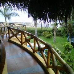 Photo taken at Playa Vichayito by Emy C. on 1/26/2013