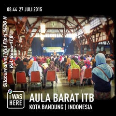 Photo taken at Aula Barat ITB by Ferry S. on 7/27/2015