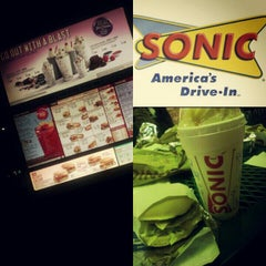 Photo taken at SONIC Drive In by Michelle-Lynne M. on 12/18/2012