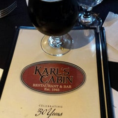 Photo taken at Karl's Cabin Restaurant by Dan B. on 6/18/2015