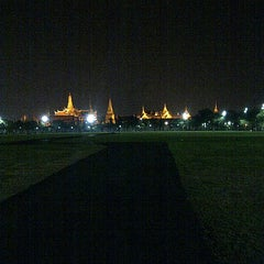 Photo taken at สนามหลวง (Sanam Luang) by Samard D. on 2/11/2013