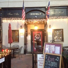 Photo taken at Churchills Pub by Burak G. on 12/9/2014