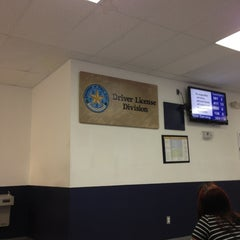 Photo taken at TX DPS - Driver License Office by Nico on 1/28/2013