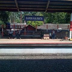 Photo taken at Stasiun Duren Kalibata by arieono l. on 3/7/2013