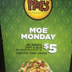 Photo taken at Moe's Southwest Grill by Dave M. on 5/27/2013