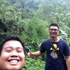 Photo taken at Lanipao Rainforest Mountain Resort (Napo Sapangdaku Guadalupe Cebu City) by Ray M. on 12/29/2014