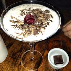 Photo taken at AYZA Wine & Chocolate Bar by Jannie on 2/16/2013