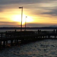 Photo taken at Redondo Board Walk by Donnie R. on 4/3/2014