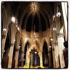 Photo taken at St. Patrick's Cathedral by Michelle O. on 3/24/2013
