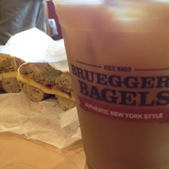 Photo taken at Bruegger's by Keith Z. on 7/17/2014