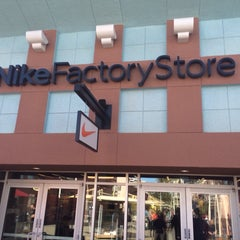 Photo taken at Nike Factory Store by DJ MOE -. on 2/21/2014