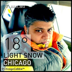Photo taken at @ChicagoCabbie by Chicago C. on 1/31/2013