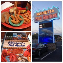 Photo taken at Marietta Fish Market by Latoya on 6/15/2013