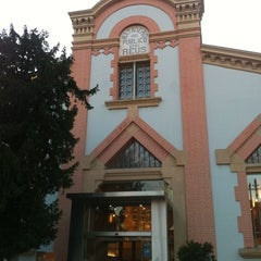 Photo taken at Biblioteca Xavier Amoros by Manel on 2/19/2014