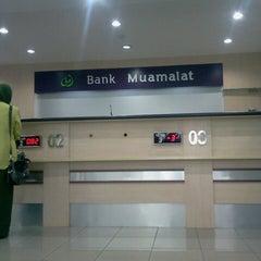 Photo taken at Bank Muamalat by I Made B. on 12/9/2013