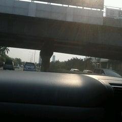 Photo taken at Gerbang Tol Kebon Jeruk by Viennaelle on 8/25/2012