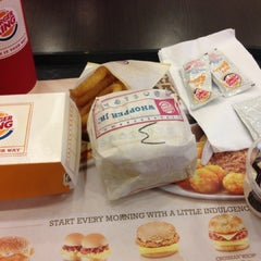 Photo taken at Burger King by Fiqah A. on 2/14/2013