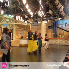 Photo taken at Windy City LIVE @ WLS ABC7 Studios by Oh So F. on 5/4/2015