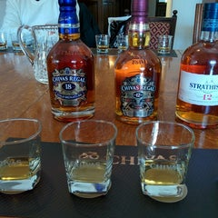 Photo taken at Strathisla Distillery by Andy S. on 5/2/2014