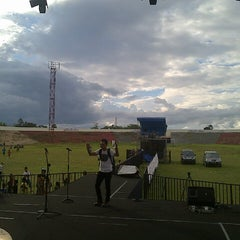 Photo taken at Stadion Manakarra by issey d. on 9/2/2013