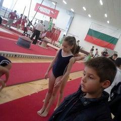 """Photo taken at Спортен комплекс """"Раковски"""" by Nikol S. on 3/22/2014"""