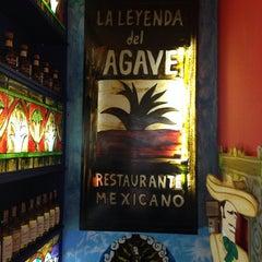 Photo taken at La Leyenda del Agave by Pedro N. on 2/13/2014