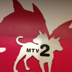 Photo taken at MTV2/mtvU by kathi p. on 3/4/2013