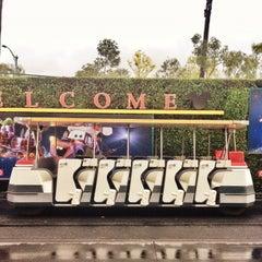 Photo taken at Mickey & Friends Tram by Tim M. on 12/3/2012