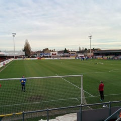 Photo taken at The London Borough of Barking & Dagenham Stadium by Brad E. on 1/25/2014
