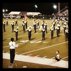 Photo taken at North Forsyth High School by Ashley O. on 10/20/2012