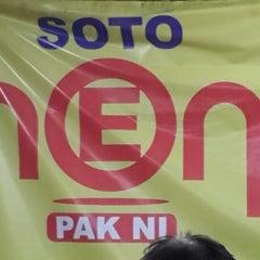 Photo taken at Soto Neon, Brumbungan,Semarang by Dhe B. on 2/24/2014