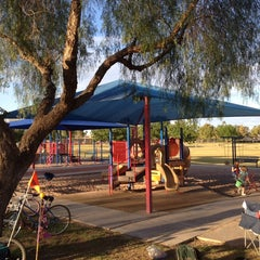 Photo taken at Optimist Park by Randy P. on 4/20/2014
