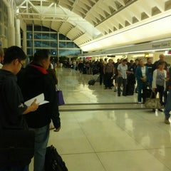 Photo taken at TSA Security Line by Erin B. on 10/15/2012