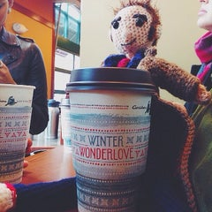 Photo taken at Caribou Coffee by Amy T. on 11/24/2013