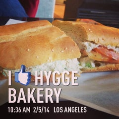 Photo taken at Hygge Bakery by Billy A. on 2/5/2014