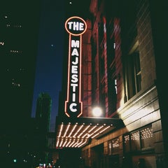 Photo taken at Majestic Theatre by Raymo E. on 10/21/2012