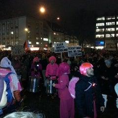 Photo taken at Augustinerplatz by Marcus L. on 1/23/2015