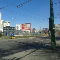 Photo taken at Parcul Centrul Civic by Mihai-Atanasie P. on 3/21/2014