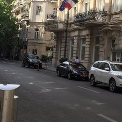 Photo taken at Ambassade de France / Fransa Səfirliyi by Sévindj M. on 6/16/2015